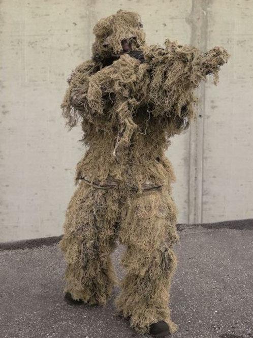 """Costum Ghillie din 4 parti """"Anti Fire"""", Digital Desert"""