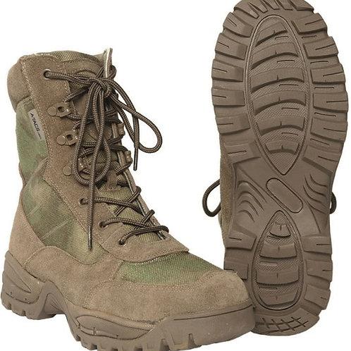 Bocanci militari tactici cu fermoar, Piele/Cordura, Thinsulate™, Mil-Tacs FG