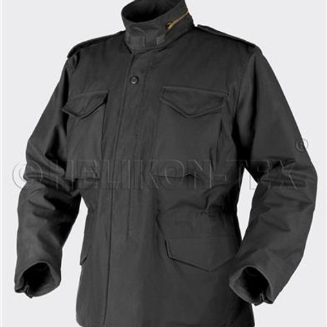 M65 Jacket - NyCo Sateen - Negru