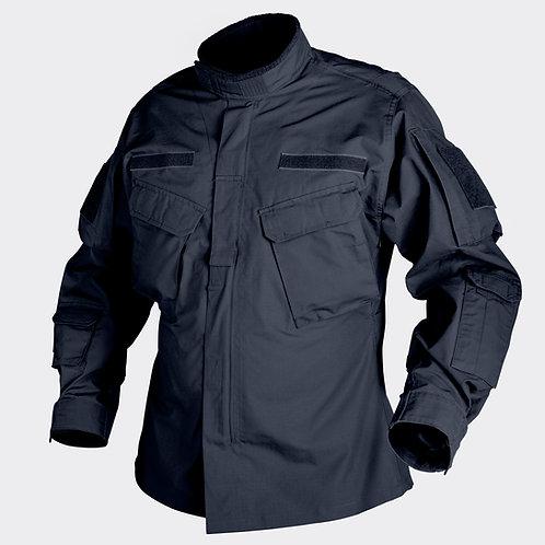 CPU® Shirt - PolyCotton Ripstop - Navy Blue