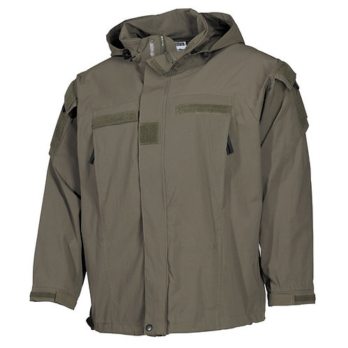 Jachetă MFH US soft shell măsliniu - level5