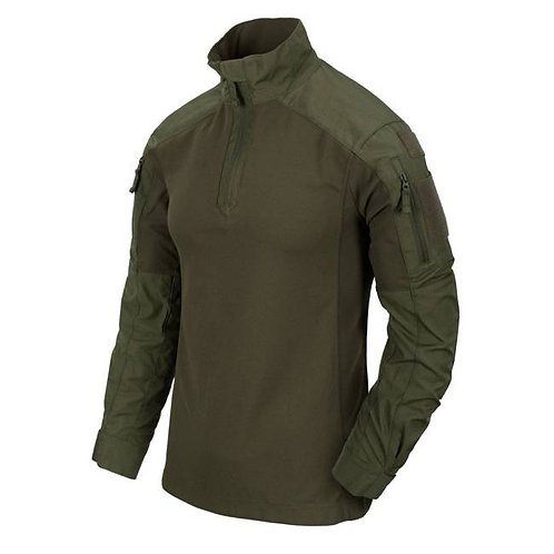 MCDU Combat Shirt - Nyco Ripstop - Olive Green