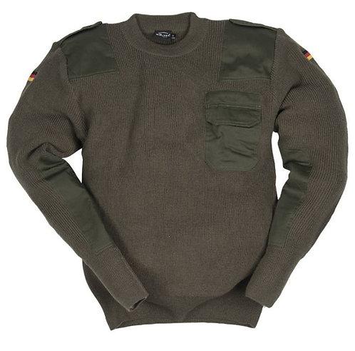 Pulover din lana - Bundeswehr - OD -