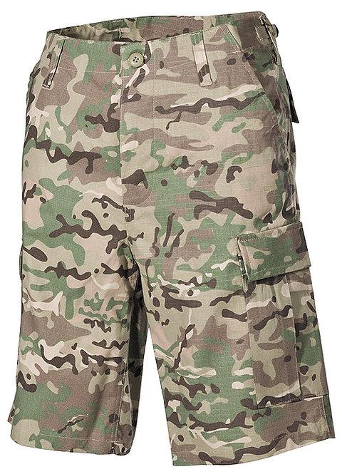 Pantaloni Scurti US Ripstop Camuflaj Multicam