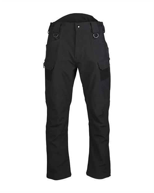 Pantaloni SOFTSHELL ′ASSAULT′ negru