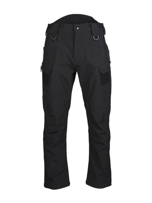 Pantaloni SOFTSHELL ′ASSAULT′ negru