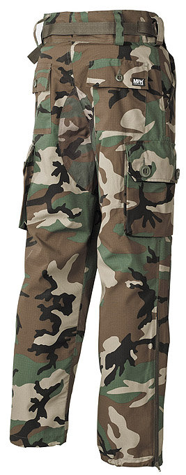 Pantaloni Commando woodland
