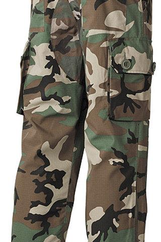 Pantaloni Commando woodland