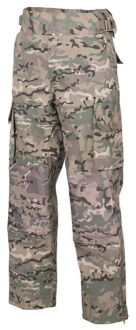 Pantaloni Commando multicam
