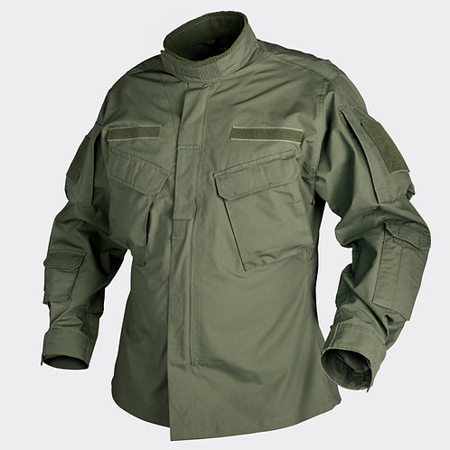 CPU® Shirt - PolyCotton Ripstop - Olive Green