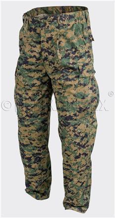 USMC Trousers - PolyCotton Twill - USMC Digital Woodland