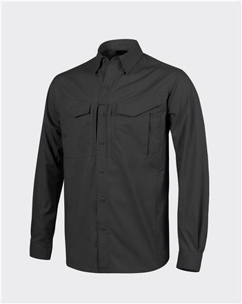 DEFENDER Mk2 Shirt long sleeve® - PolyCotton Ripstop - Black