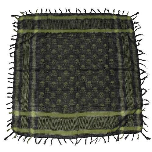 Batic Shemagh model PLO, culori OD VERDE -NEGRU