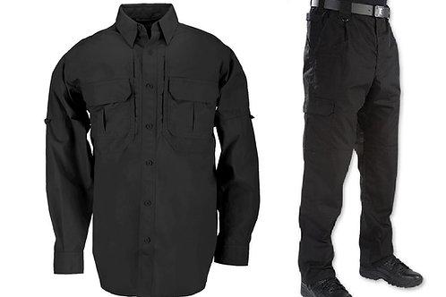 Costum tactic Mounting negru