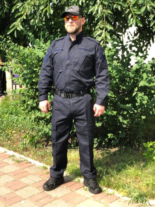 Costum US ACU Jacheta+Pantaloni Rip Stop navy blue
