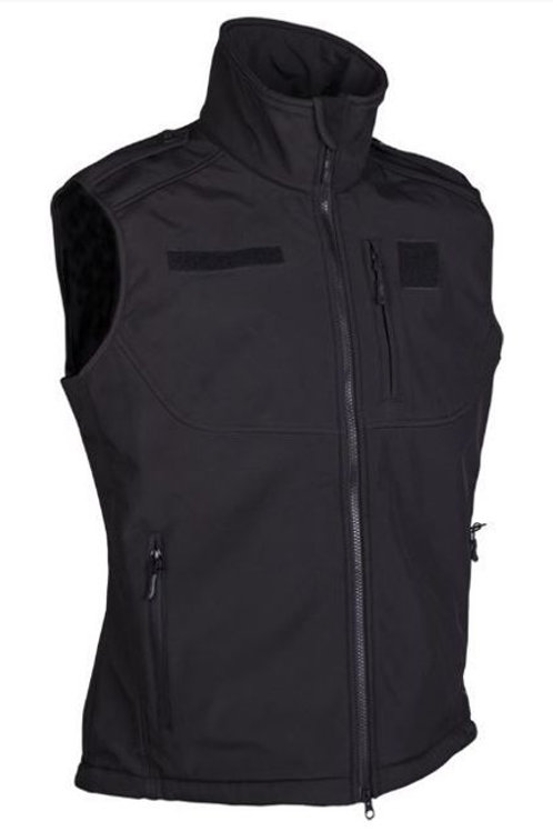 Black SOFTSHELL VEST