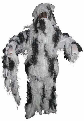 Costum Gillie camuflaj  schne