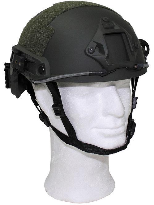"""US Helmet, """"FAST"""", OD verde, ABS-plastic"""