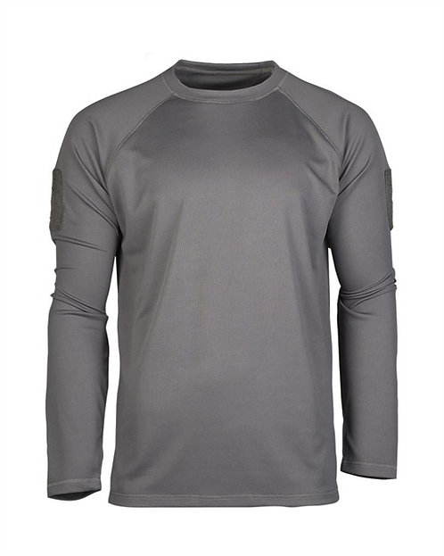 PULOVER URBAN GRI TACTICAL LONG QUICKDRY-gray