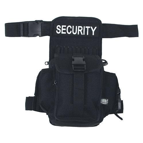 """Geanta cu fixare pe sold """"SECURITY"""" - negru"""