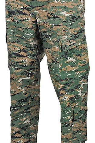 Pantaloni US ACU Rip Stop, Rip digital woodland