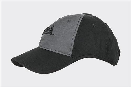 Logo Cap - PolyCotton Ripstop - Black / Shadow Grey B