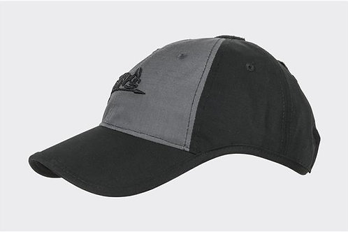 Logo Cap - PolyCotton Ripstop - Black / Shadow Grey B