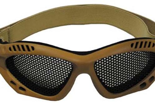 Ochelari din Plasa, Airsoft khaki, Deco