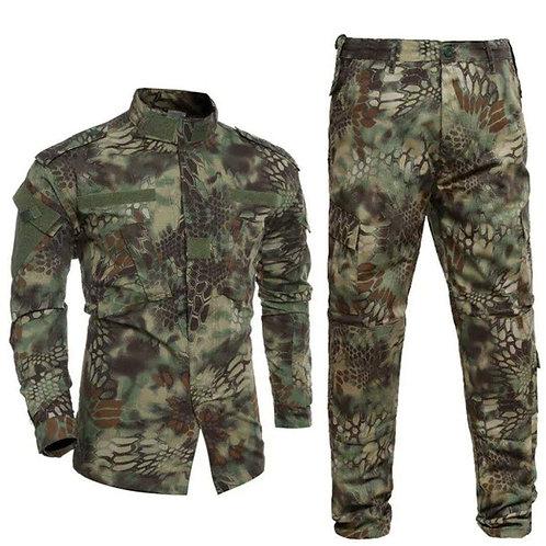Costum US ACU Jacheta+Pantaloni Rip Stop kryptec
