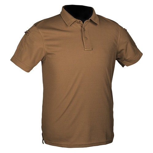 Tricou Polo tactic coyot quickdry