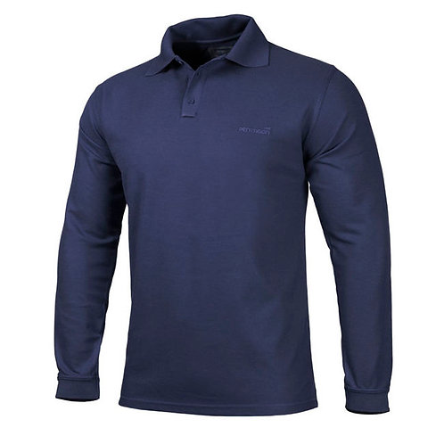 Tricou Polo 2.0 Maneca lunga -Navy