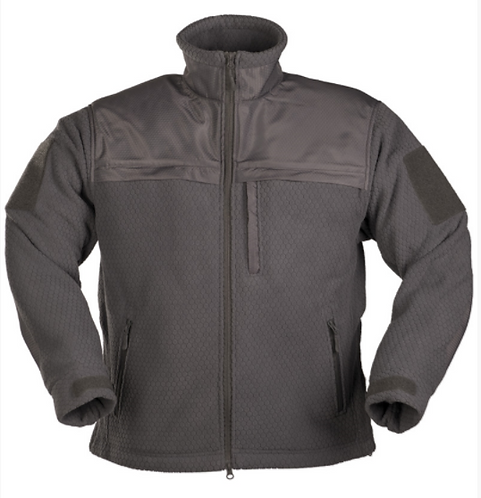 JACKETA FLEECE Hextac grey