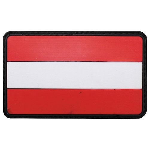 """Patch, emblema """"Austria"""", 3D, 8 x 5 cm"""