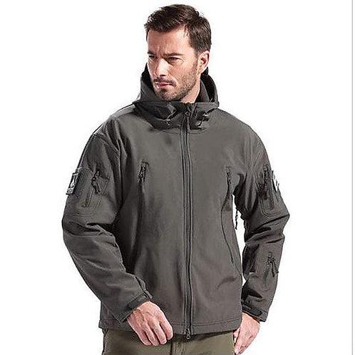Jacheta Softshell din lana imblanita grey