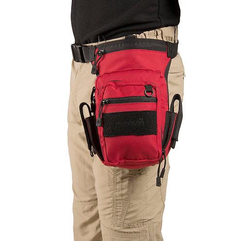 Husa, geanta, borseta pentru coapsa - Max-S 2.0 - Rosu