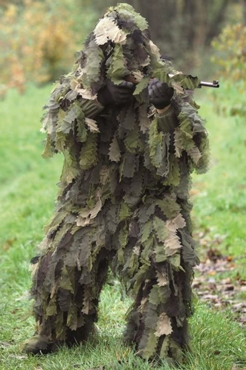 "Costum Ghillie din 3 parti ""Oak Leaf 3D"", Woodland"