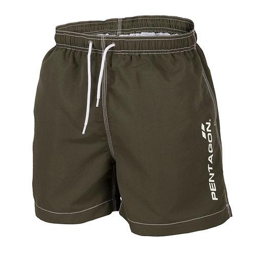 Pantaloni scurti de inot HIPPOCAMPUS - Olive