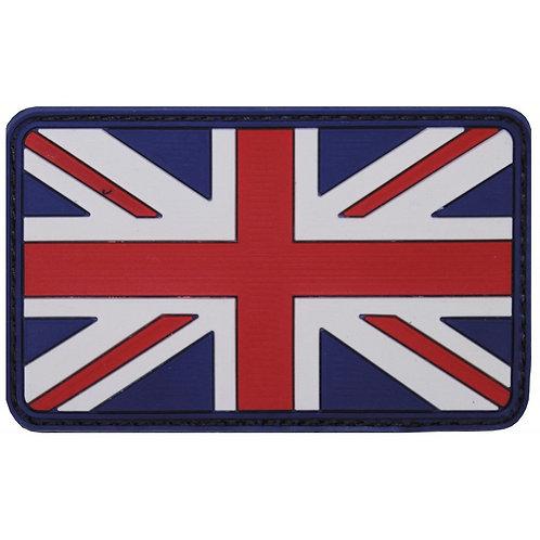 """Patch, emblema """"U. K."""", 3D, 8 x 5 cm"""