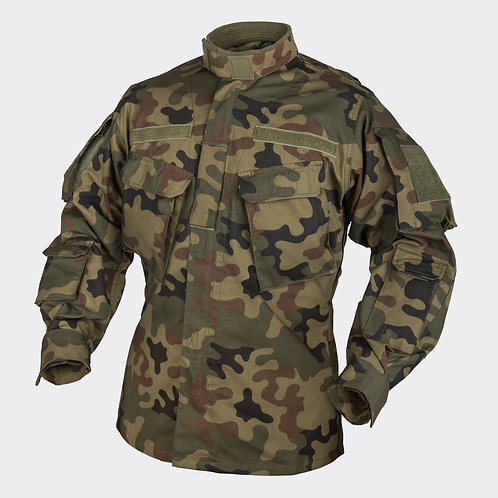 CPU® Shirt - PolyCotton Ripstop - PL Woodland