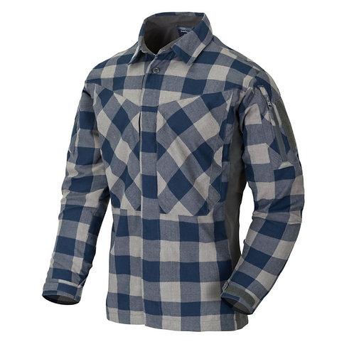 Camasa tactic MBDU Flannel Shirt SLATE BLUE CHECKERED