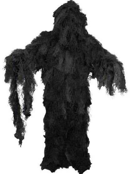 Costum Gillie camuflaj night-camo