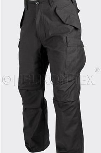 M65 Trousers - Nyco Sateen - Black