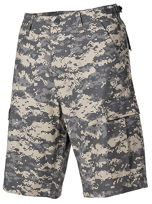 Pantaloni Scurti US Ripstop Camuflaj AT-di