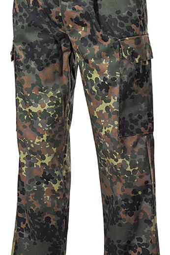 Pantaloni BW Camuflaj flecktarn