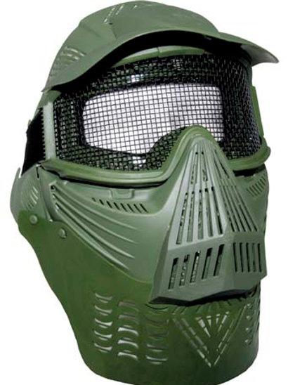 "Masca Airsoft .De Lux"", , OD green"