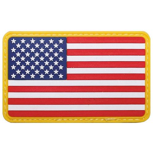 """atch, emblema """"USA"""", 3D, 8 x 5 cm"""