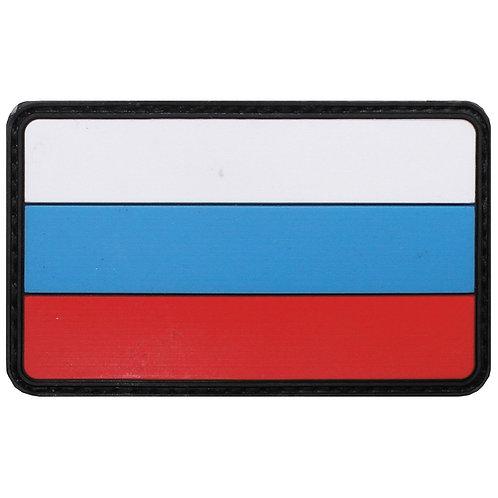 """Patch, emblema """"Russia"""", 3D, 8 x 5 cm"""