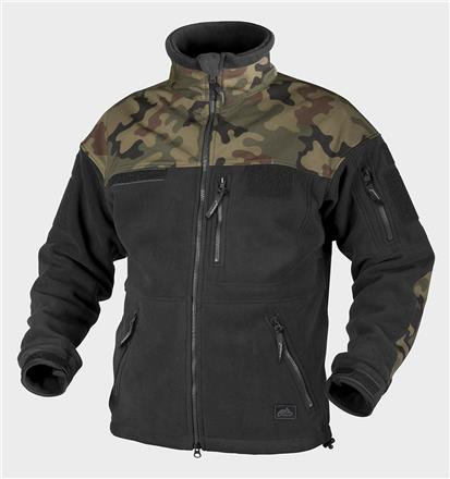 Polish INFANTRY Jacket - Fleece - Black/PL Woodland