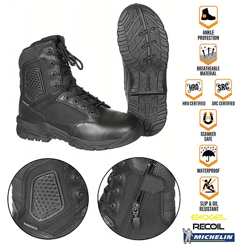 MAGNUM STRIKE FORCE 8.0 SZ WP Boots -Black