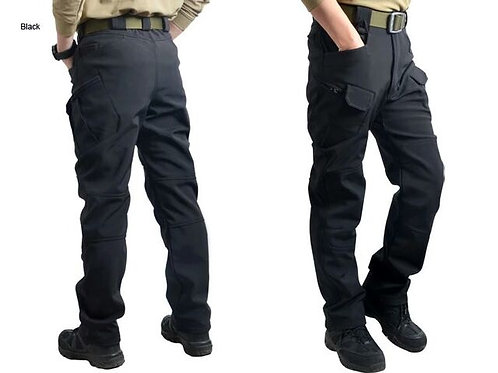 "Pantaloni Soft shell ""Pantera"" black"